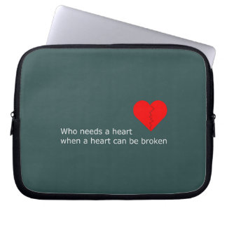 What's love got to do with it laptop sleeve