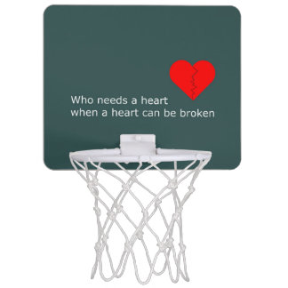 What's love got to do with it mini basketball hoop