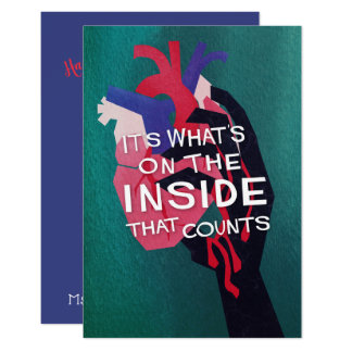 What's on the Inside Zombie Pun Class Valentine Card