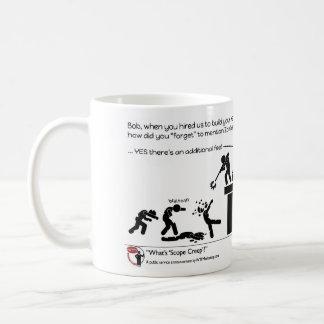 What's Scope Creep? Coffee Mug