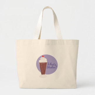 Whats Shakin Large Tote Bag