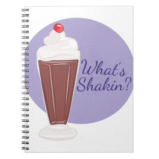 Whats Shakin Notebook