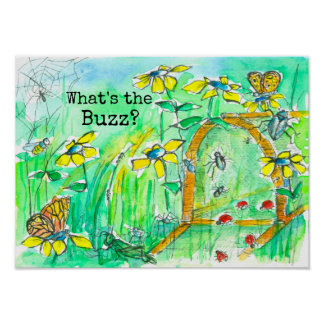 What's the Buzz Bug Box Poster