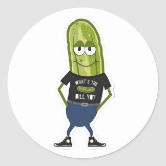 What's The Dill Yo Sticker