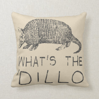 What's the Dillo? Throw Pillow
