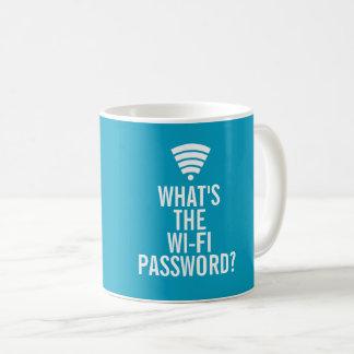 What's the wi-fi password Coffee Mug