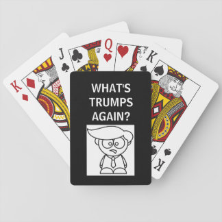 WHAT'S TRUMPS AGAIN - PLAYING CARDS