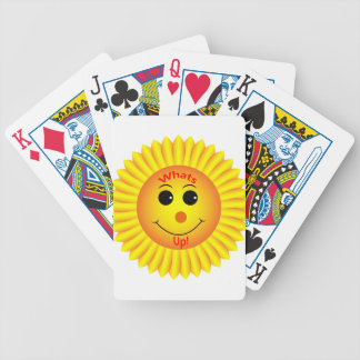 Whats Up ! Bicycle Playing Cards