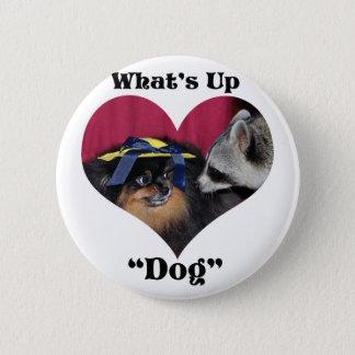 What's Up Dog 2 Inch Round Button