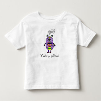 """What's up, girlfriend"" monster kid's t-shirt"