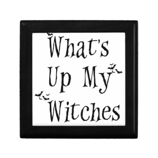 WHAT's Up My Witches Gift Box