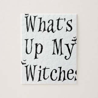 WHAT's Up My Witches Jigsaw Puzzle