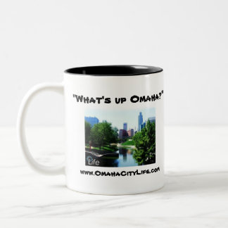 What's Up Omaha ? Two-Tone Coffee Mug