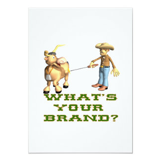 Whats Your Brand Card
