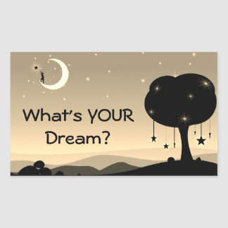What's Your Dream Sticker