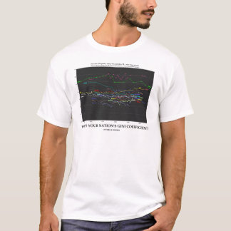 What's Your Nation's Gini Coefficient? (Economics) T-Shirt