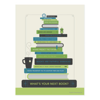 What's Your Next Book? Postcard