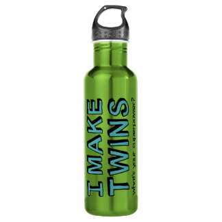 What's Your Superpower? 24oz Water Bottle