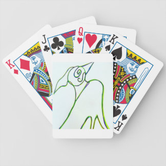 What''sa Birda With York Bicycle Playing Cards