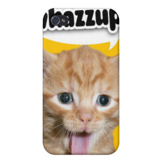 whazzup cat ipod touch case covers for iPhone 4