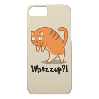 Whazzup Cat Phone Case