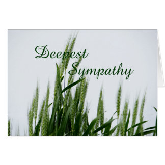 Wheat 2862-tfv- customize for any occasion card