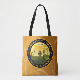 Wheat and Centennial Print Bag