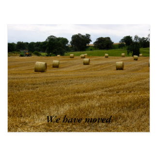 Wheat Bales  We have moved Post Card