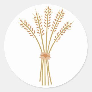Wheat Bundle Classic Round Sticker