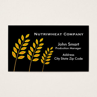 Wheat Company Business Cards