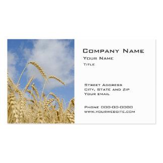 Wheat Farmer Business Cards