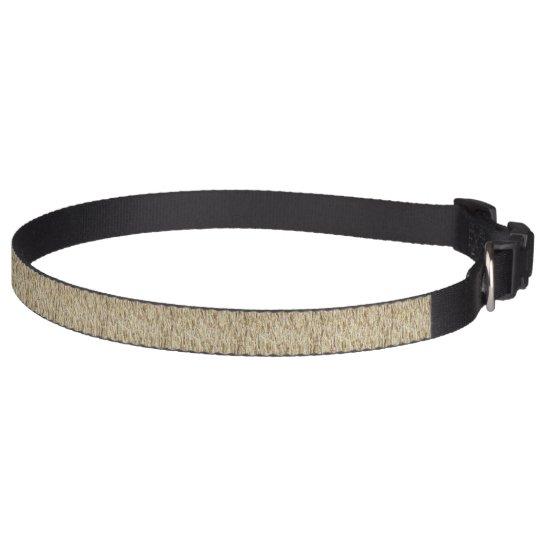 Wheat Field Dog Collar