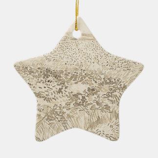 Wheat Field - Van Gogh Ceramic Ornament