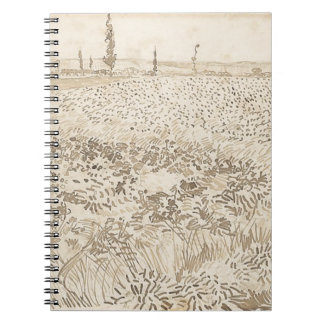 Wheat Field - Van Gogh Notebooks