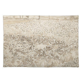 Wheat Field - Van Gogh Placemat