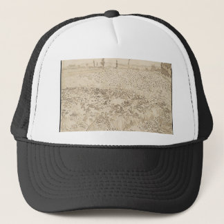 Wheat Field - Van Gogh Trucker Hat