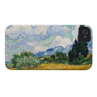 Wheat Field with Cypresses Barely There™ iPhone 4 Case-Mate iPhone 4 Case