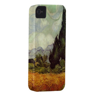 Wheat Field with Cypresses by Vincent van Gogh iPhone 4 Case-Mate Case