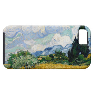 Wheat Field with Cypresses  iPhone 5 Case