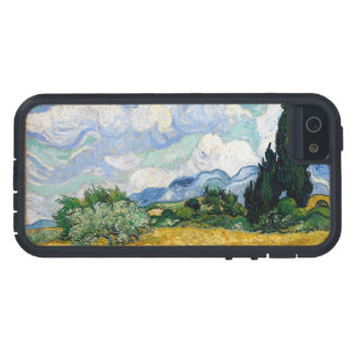 Wheat Field with Cypresses iPhone 5 Cases