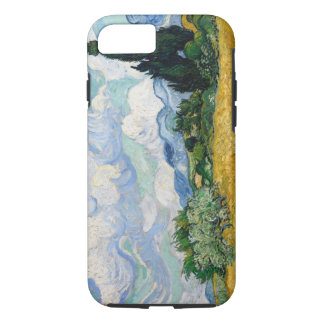 Wheat Field with Cypresses iPhone 7 Case