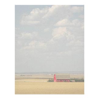 Wheat Fields Landscape Letterhead