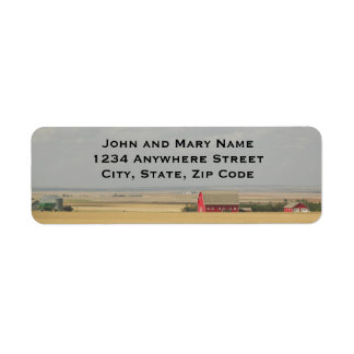Wheat Fields Return Address Labels