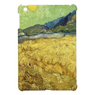 Wheat Fields with Reaper at Sunrise - Van Gogh iPad Mini Case