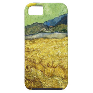 Wheat Fields with Reaper at Sunrise - Van Gogh iPhone 5 Covers