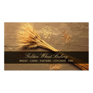 Wheat Grains - Bakery Patisserie business card