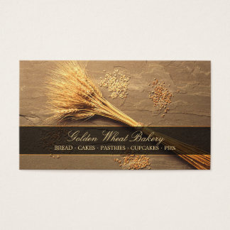 Wheat Grains Bakery Patisserie Food business card