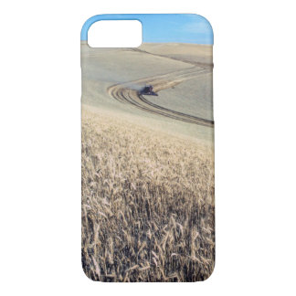 Wheat Harvest Agricultural Combine Harvester iPhone 7 Case