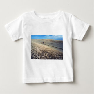 Wheat Harvest on Field Baby T-Shirt