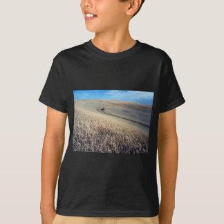 Wheat Harvest on Field T-Shirt